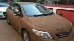 धूप से बचाने कार में लगाया गोबर का लेप, जानिये क्या है यह देसी जुगाड़