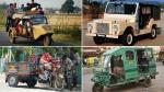 भारत में मौजूद टॉप 10 अजीबो-गरीब जुगाड़ वाहन