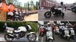 इन मोटरसाइकिलों से चोरों का पीछा करती हैं भारतीय पुलिस, हार्ले-डेविडसन से होंडा सीबीआर 250 तक है शाम