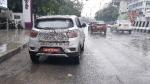 महिंद्रा केयूवी100 इलेक्ट्रिक टेस्टिंग के दौरान आयी नजर, जाने कब होगी लॉन्च