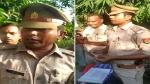 इस पुलिसवाले ने काटा खुद का चालान, वीडियो में देखियें क्या है पूरा मामला