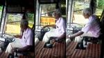 80 साल के इस ड्राइवर के लिए बस चलना नहीं है बड़ा काम, देखें वीडियो