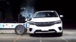 2020 होंडा सिटी को ASEAN NCAP क्रैश टेस्ट में मिला 5 स्टार रेटिंग