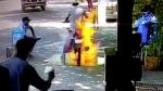 Bike Catches Fire While Being Sanitised: बाइक को करा रहे हैं सैनिटाइज तो बरते यह सावधानियां