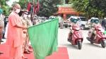 Hero Presents Scooters To Lady Police Force: गोरखपुर महिला पुलिस बल को मिली 100 हीरो स्कूटर