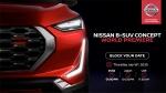 Nissan B-SUV Concept Premiere Date Revealed: निसान बी-एसयूवी कॉन्सेप्ट इस तारीख को की जायेगी पेश