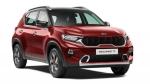 Kia Sonet SUV Details Revealed: किया सॉनेट वैरिएंट, इंजन, आकार की जानकारी आई सामने, जानें