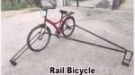 Bicycle That Runs On Railway Track: रेलवे इंजीनियर ने बनाई पटरी पर दौड़ने वाली साइकिल, देखें वीडियो