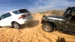 Mercedes Benz Rescued By Mahindra Thar: महिंद्रा थार ने रेत में फंसी मर्सिडीज को निकाला