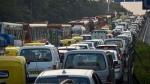 Farmers Protest Leads To Traffic Jam: किसान आंदोलन के चलते दिल्ली-हरियाणा बाॅर्डर पर लगा जाम