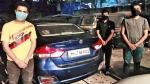 शराब पीकर 3 युवक कार से कर रहे थे खतरनाक स्टंट, वायरल हुआ वीडियो तो पुलिस ने पकड़ा