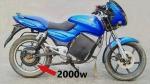Bajaj Pulsar Converted Into Electric Bike: पुराने बजाज पल्सर को कन्वर्ट कर दिया इलेक्ट्रिक बाइक का अवतार