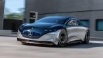 Mercedes-Benz EQS Unveiled: मर्सिडीज-बेंज ने ईक्यूएस इलेक्ट्रिक सेडान को किया पेश, 770 किमी है रेंज
