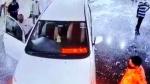 BJP नेता ने अपनी Toyota Innova से अस्पताल में मचाया उत्पात, CCTV में कैद हुआ कारनामा