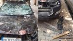 अपराधी को पकड़ने गई थी Police लेकिन लोगों ने किया उनकी गाड़ी का ऐसा हश्र, देखें वीडियो