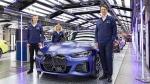BMW i4 इलेक्ट्रिक सेडान का उत्पादन हुआ शुरू, देखें तस्वीरें