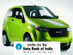 Mahindra Reva Joins With Sbi Offer Cheap Loans Aid0046