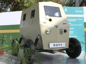Tata Motors Develops Bullet Proof Nano Car Aid0154