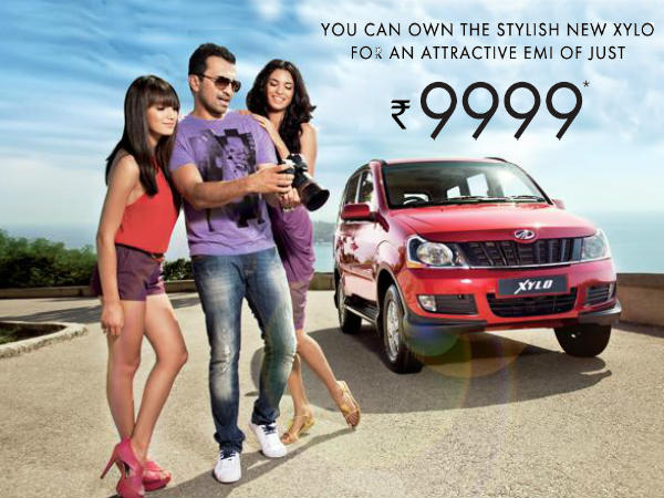 own new mahindra xylo attractive emi rs 9999 aid0154