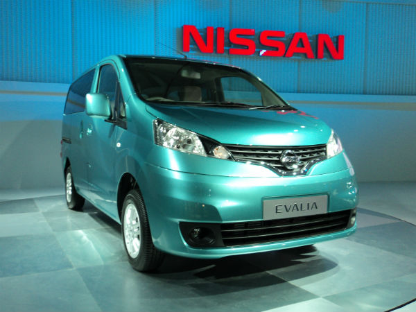 nissan launch mpv evalia soon