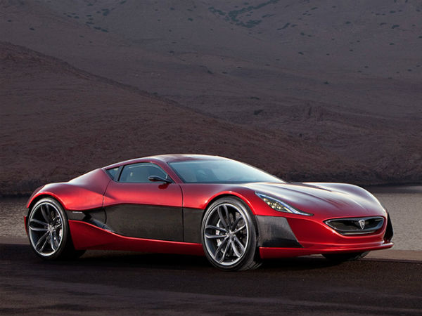 world first electric supercar rimac concept one