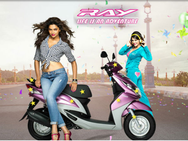 yamaha ray launched in india