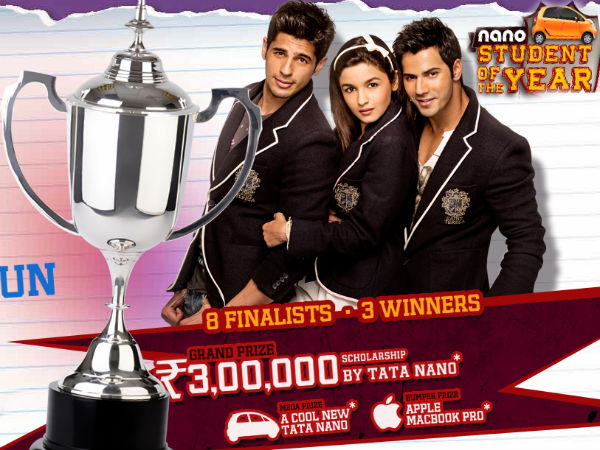 who is the tata nano student the year