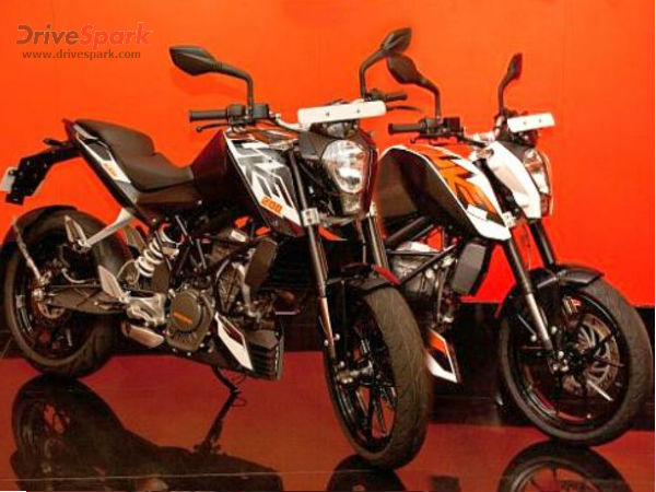 ktm duke 200 gets two new colors