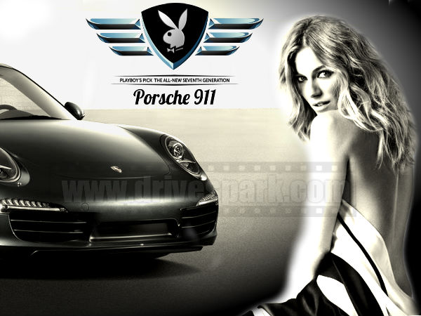 Porsche 911 Playboy Car Of The Year 2013