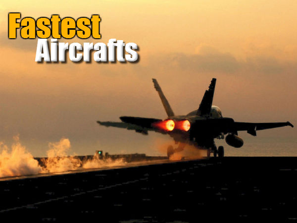 World's Top 10 Fastest Flying Ships