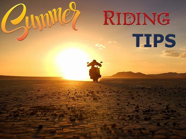 बाइक ड्राइविंग टिप्स : गर्मी में बाइक चलाते वक्त ये साबित होंगे सच्चे हम 'सफर'