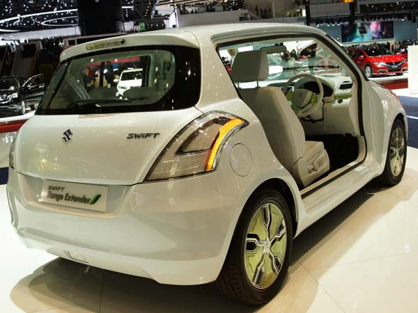 Maruti Suzuki Swift Hybrid Range Extender Car ay launch in india by 2016 end.