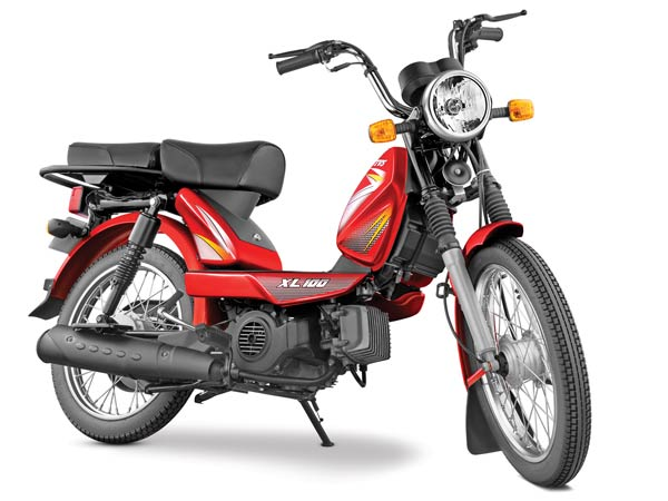 Four-Stroke TVS XL 100 Launched In Delhi For Rs. 30,174