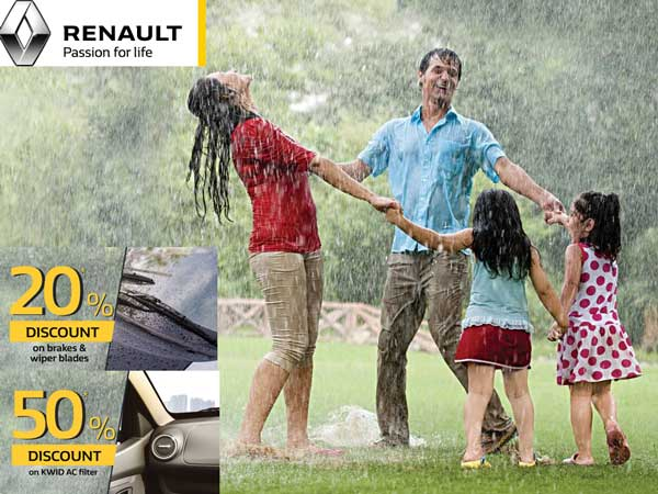 Renault India Monsoon Camp begins from july 15