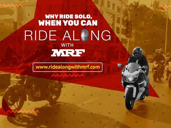 MRF Tyres launches Ride Along With MRF riding club in india