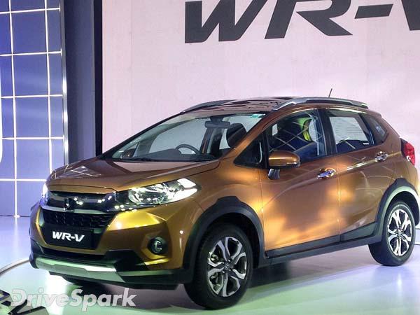 खुशखबरीः लॉन्च हुई आपकी Honda WR-V, कीमत 7.75 लाख से शुरू