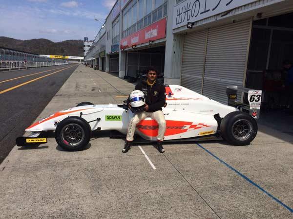 FIA-F4 जापानी चैम्पियनशिप में भाग लेने वाला पहला भारतीय होगा आकाश गौड़ा
