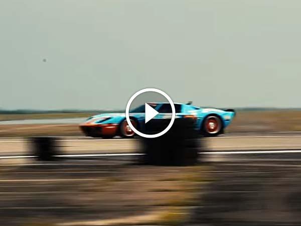 2,500bhp फोर्ड जीटी ने तोड़े रेस के रेकार्ड, यहां देंखे Video