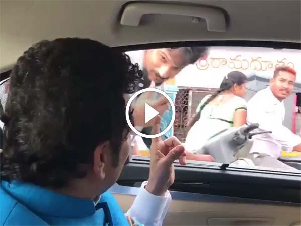 Video: जब तेंदुलकर ने अपने फैंन्स को सड़क पर दिया हेलमेट पहनने की सलाह... देखें वीडियो...