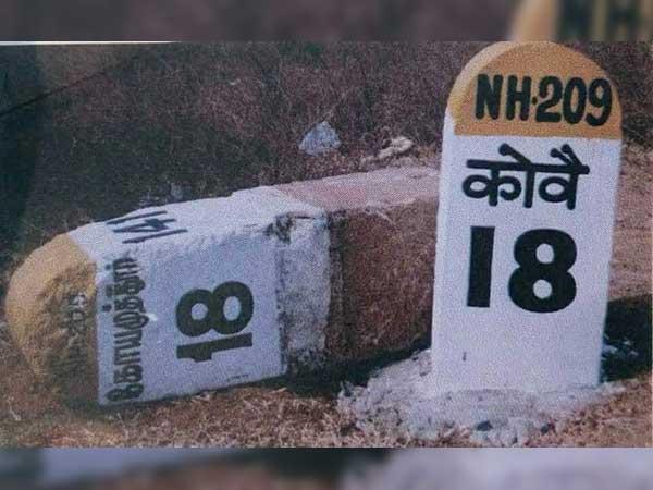 पहले अंग्रेजी फिर हिंदी और अब फिर से अंग्रेजी में हो गया इन राजमार्गों के मील के पत्थर, जानिए क्यों?