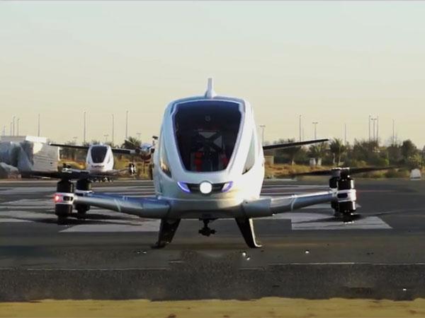 दुबई में शुरू होने जा रही है दुनिया की पहली सेल्फ-ड्राइविंग फ्लाइंग टैक्सी