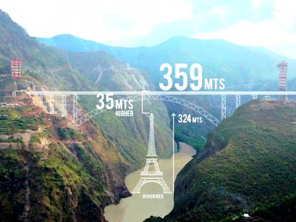 ये है Great India का  Great पुल, जो Eiffel Tower से भी होगा ऊंचा