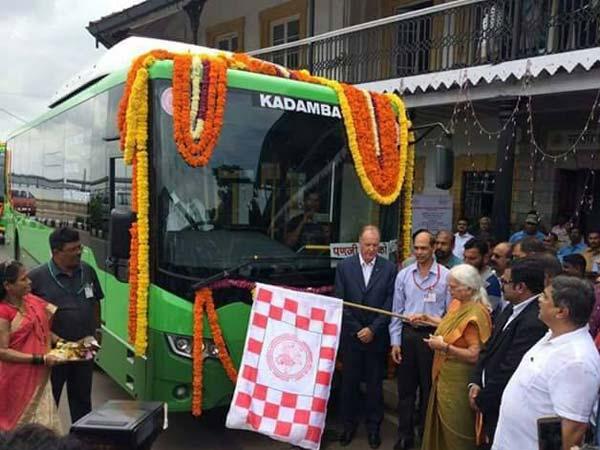 गोवा में लॉन्च हुई भारत की पहली बायो-फ्यूल बस, इन खासियतों से है लैस..