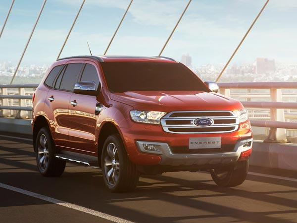 9. Ford Endeavour (Everest)