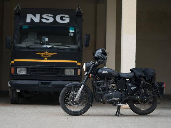 एनएसजी कमांडो की पहली पसंद रॉयल एनफील्ड स्टीथ ब्लैक क्लाकिस 500 की बुकिंग शुरू
