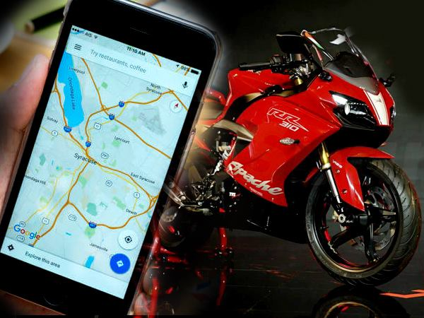 google brings two wheeler mode to maps