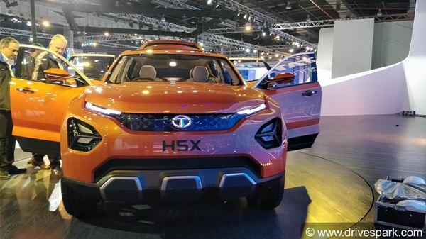 ऑटो एक्सपो 2018: टाटा मोटर्स ने अपनी फ्यूचर कॉसेप्ट एसयूवी कार H5X का अनावरण किया