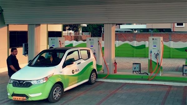 दस लाख इलेक्ट्रिक वाहनों को जोड़ने की योजना बना रही है देश की सबसे बड़ी कैब एग्रीगेटर