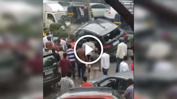 विडियो: एक्सीडेंट के बाद एक्टर सिद्धार्थ शुक्ला की BMW कार का चेहरा बिगड़ा