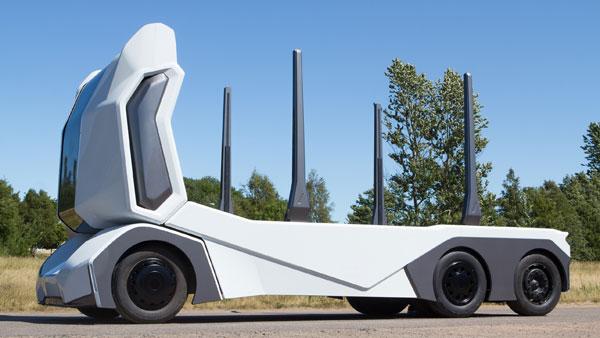जंगलों में बिना ड्राइवर के दौड़ेगी ये शानदार इलेक्ट्रिक ट्रक